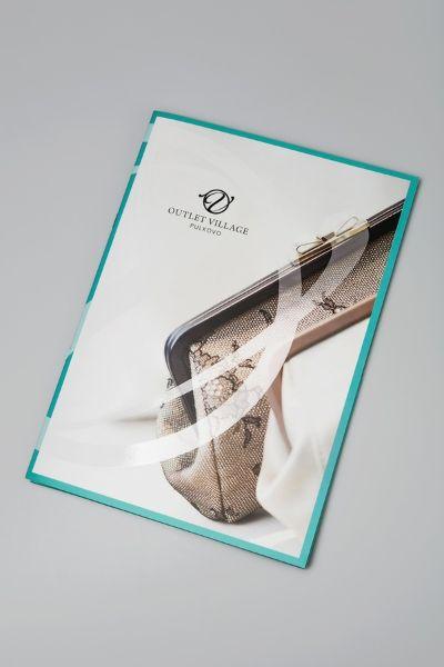Фирменная папка-буклет для презентаций