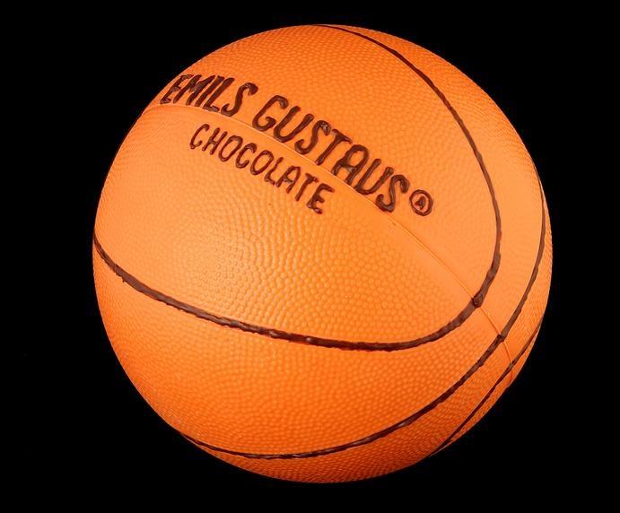 Шоколадный мяч для баскетбола