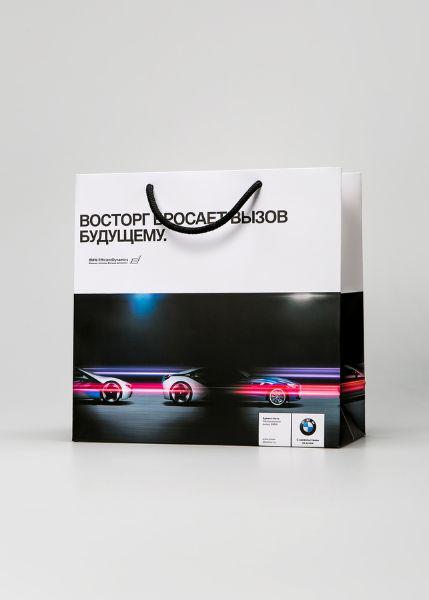 Фирменный пакет для авто-бренда