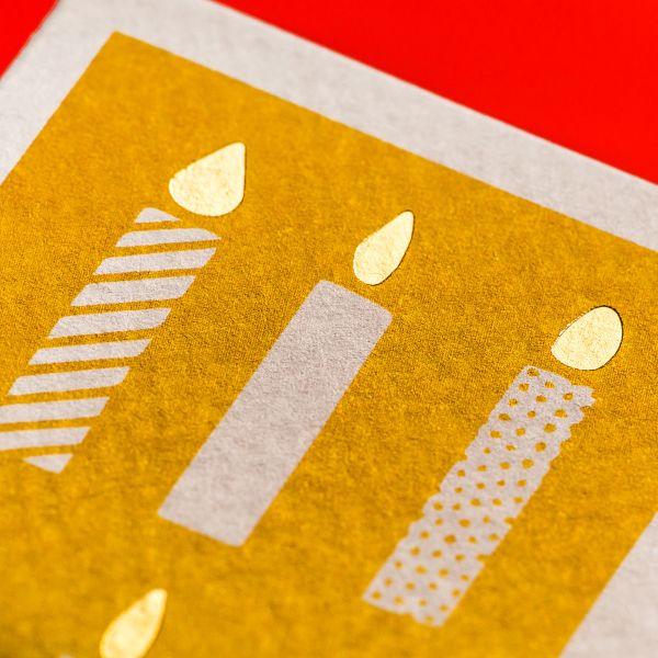 Памятные открытки в фирменном стиле