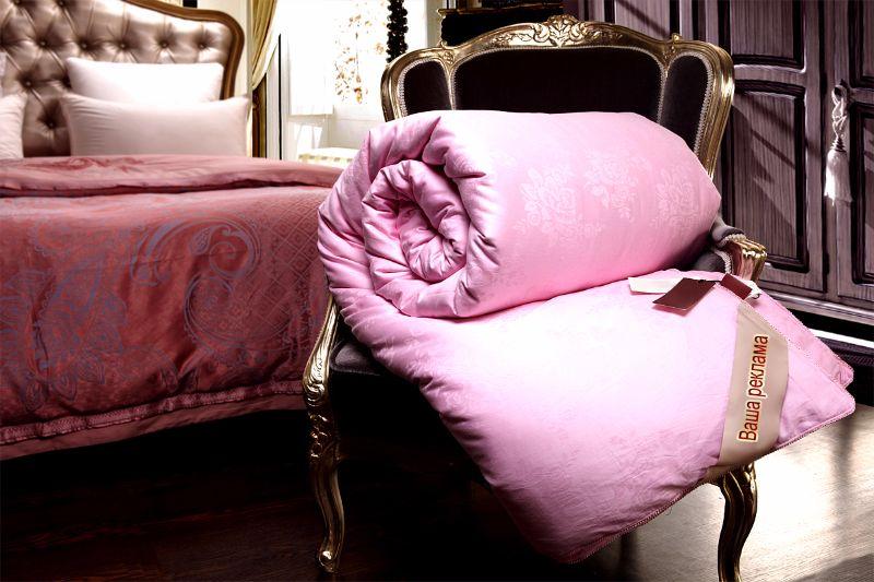 Фирменное одеяло из шелка