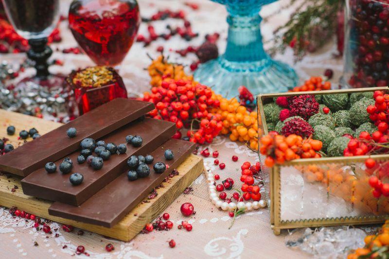 Корпоративная поляна шоколада