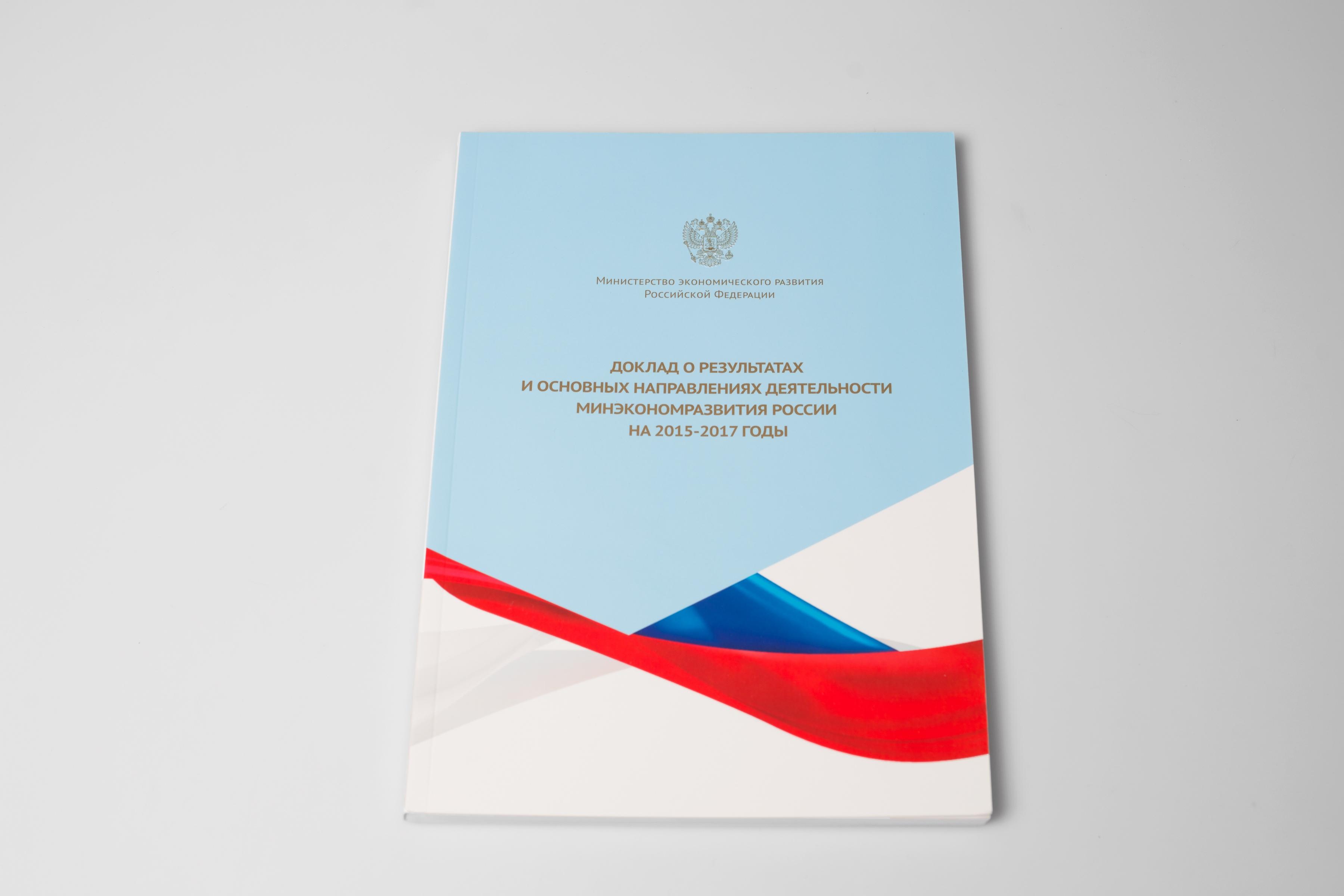 Годовой отчет для Минэкономразвития РФ