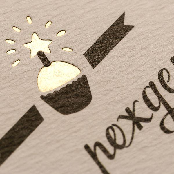 Эксклюзивный дизайн открытки для поздравления от компании