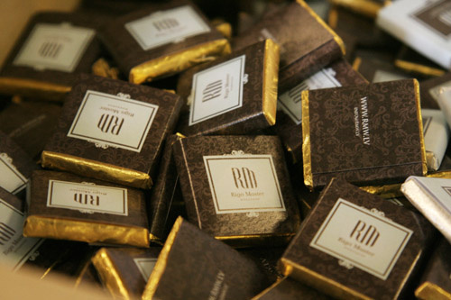 Шоколад для ресепшн