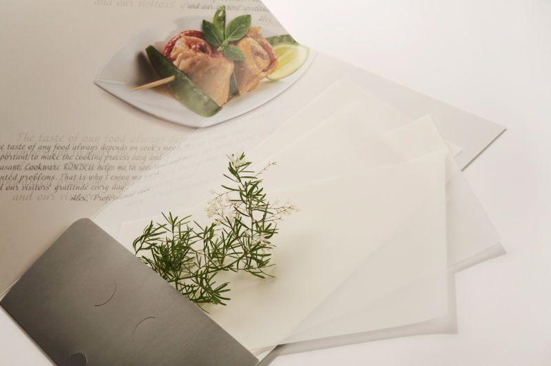 Папка для меню с клапаном