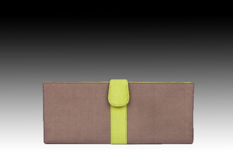 Фирменное портмоне из шелка