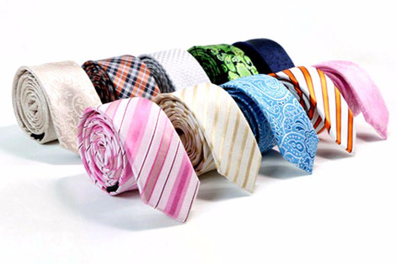 Фирменный галстук из натурального шелка