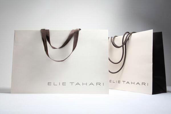 Элегантный пакет для дизайнерского бренда