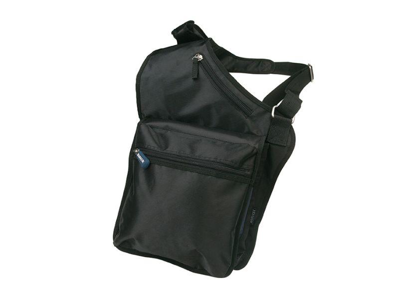 Черный рюкзак на одно плечо
