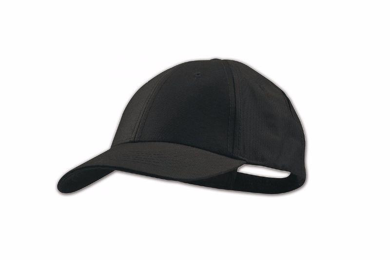 Черная бейсболка, 5 клиньев