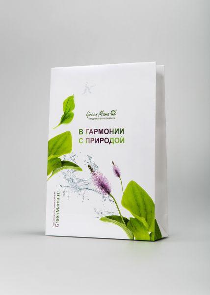 Фирменный пакет с логотипом