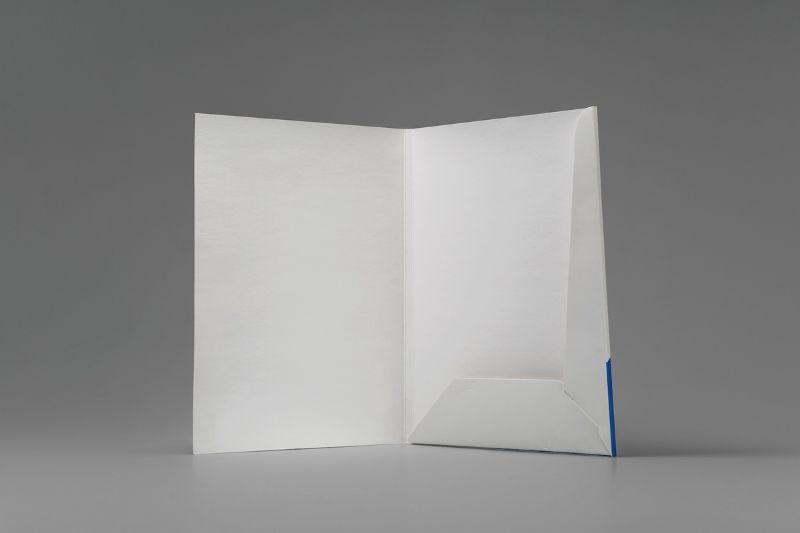Элегантная фирменная папка для бумаг