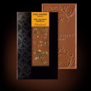 Шоколад с семенами тыквы