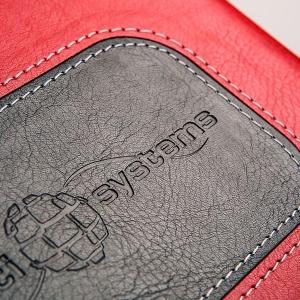 Кожаный ежедневник с тисненым лого