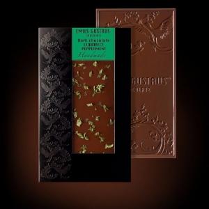 Шоколад с мятой и лакрицей