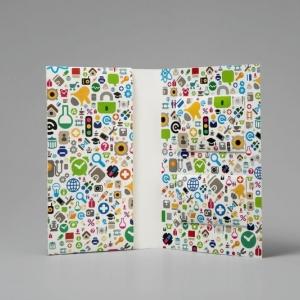 Фирменная папка для пластиковых карт