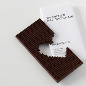 Шоколад ко дню Святого Валентина