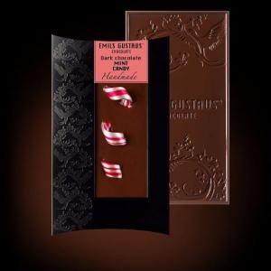 Шоколад с мятными конфетами