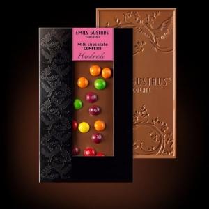Шоколад с конфетти