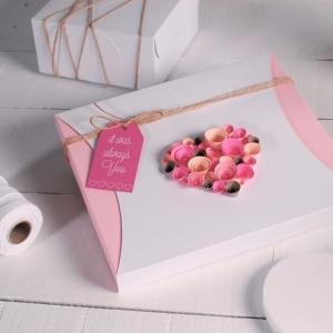 Коробочка из каппа-картона