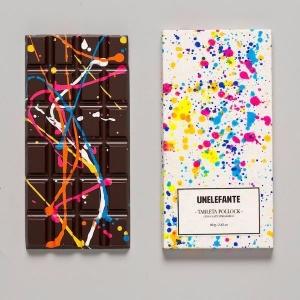 Дизайнерский шоколад с яркой глазурью