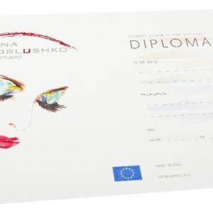 Диплом, дизайнерская бумага