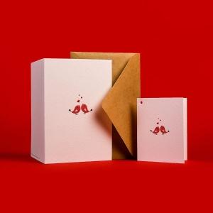 Печать набора открыток с поздравлениями