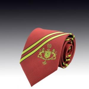 Шелковый галстук с логотипом