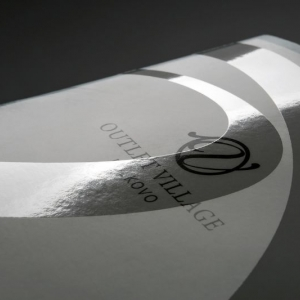 Презентационная папка с УФ-лаком на обложке