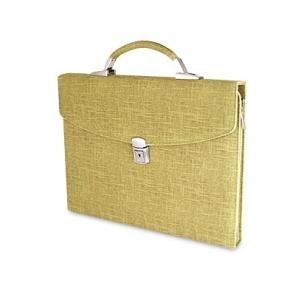 Папка-портфель песочного цвета