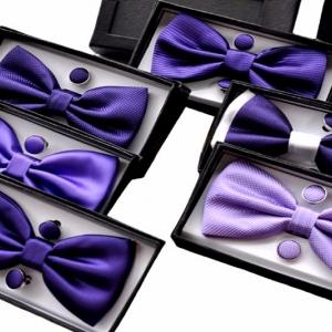 Подарочный набор из бабочки и запонок