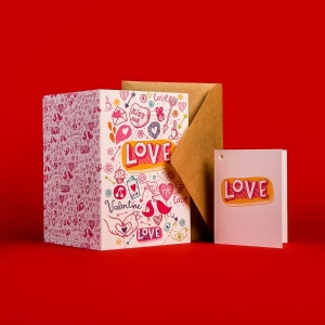 Печать поздравительных открыток на заказ