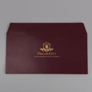 Конверт из мелованной бумаги