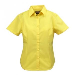 Женская рубашка со стоячим воротником