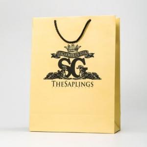 Элегантный фирменный пакет с лого