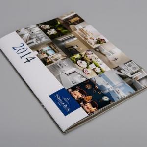 Помесячный каталог-календарь, мелованная бумага