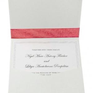 Дизайнерс7ое приглашение в конверте