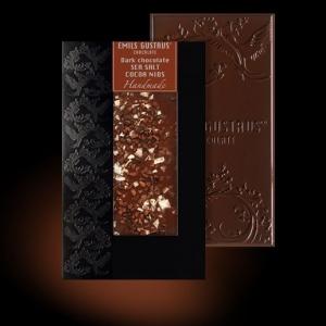 Шоколад с морской солью и какао