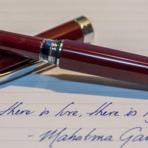 Подарочная ручка из металла