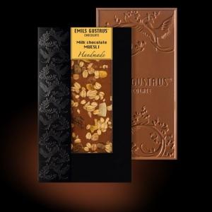Шоколад с мюсли