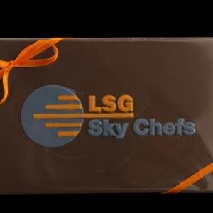 Шоколад с индивидуальной формой и лого