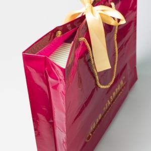 Фирменный пакет с бантом