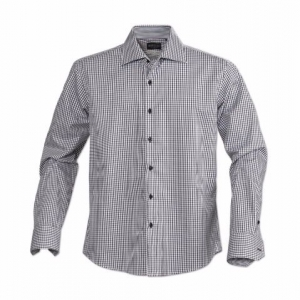 Рубашка мужская, прямой силуэт