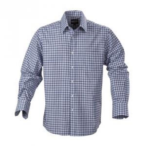 Мужская рубашка, прямой силуэт
