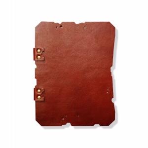Вырубная папка для меню с лого