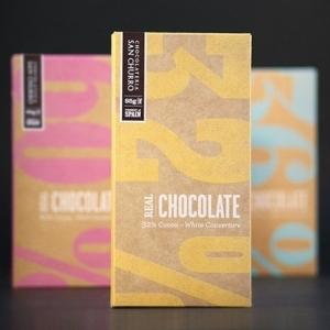 Белый шоколад кувертюр