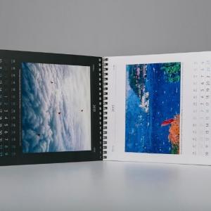 Перекидной календарь, полноцветная печать