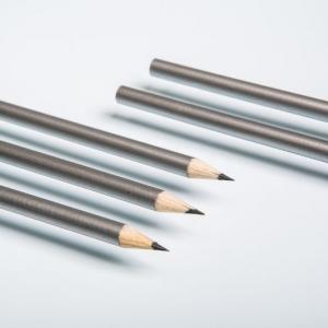 Простые карандаши металлического цвета