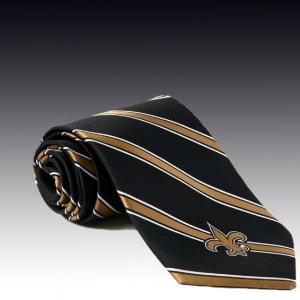 Черный шелковый галстук с логотипом